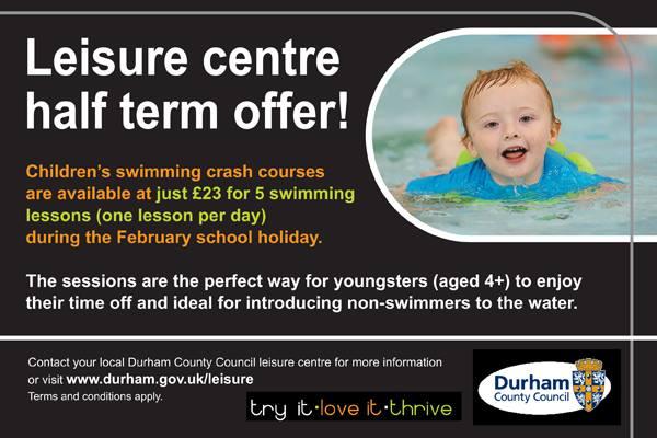 Half Term Swimming Crash Courses