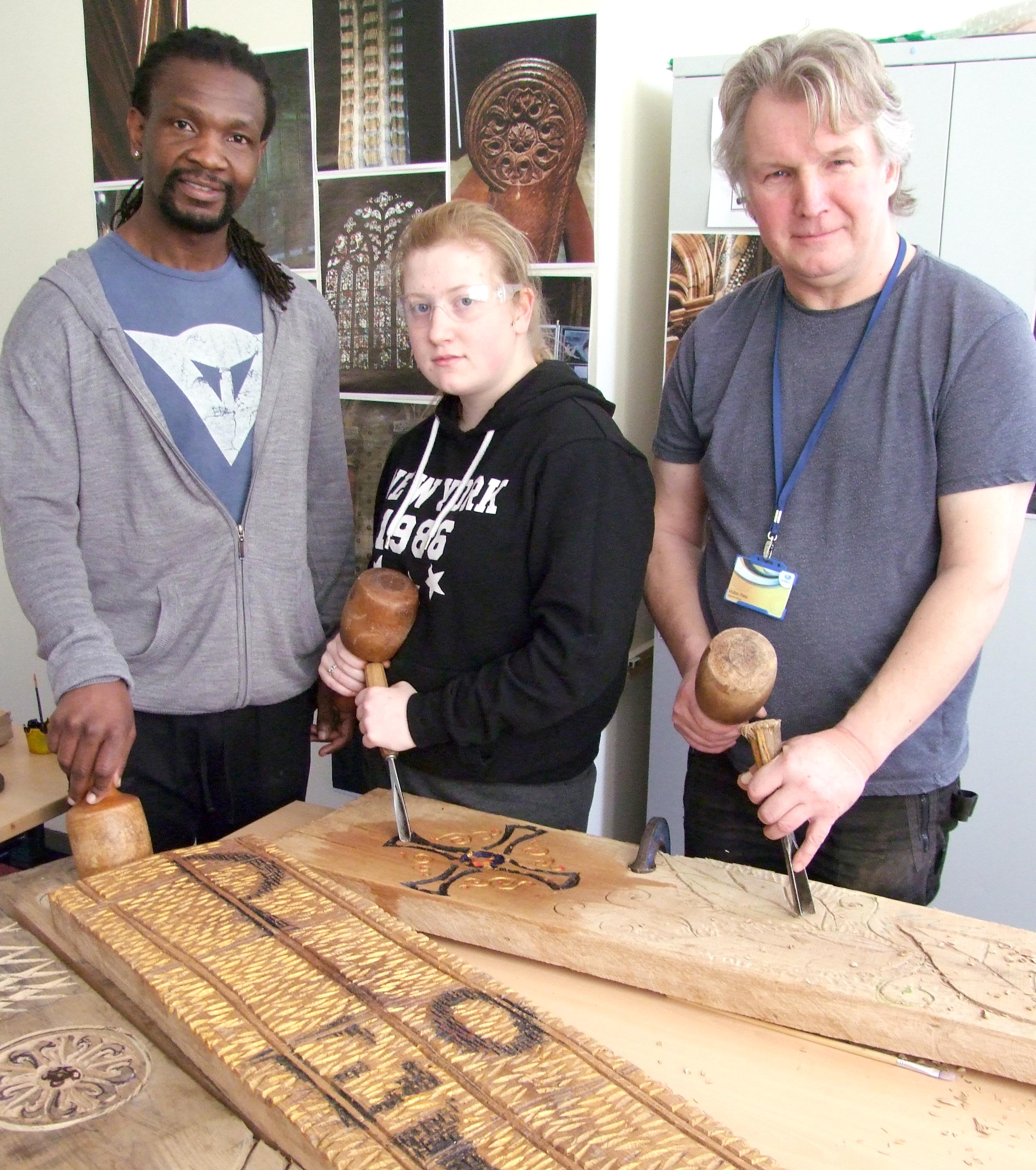 Aycliffe Students Produce Sculpture for Cathedral