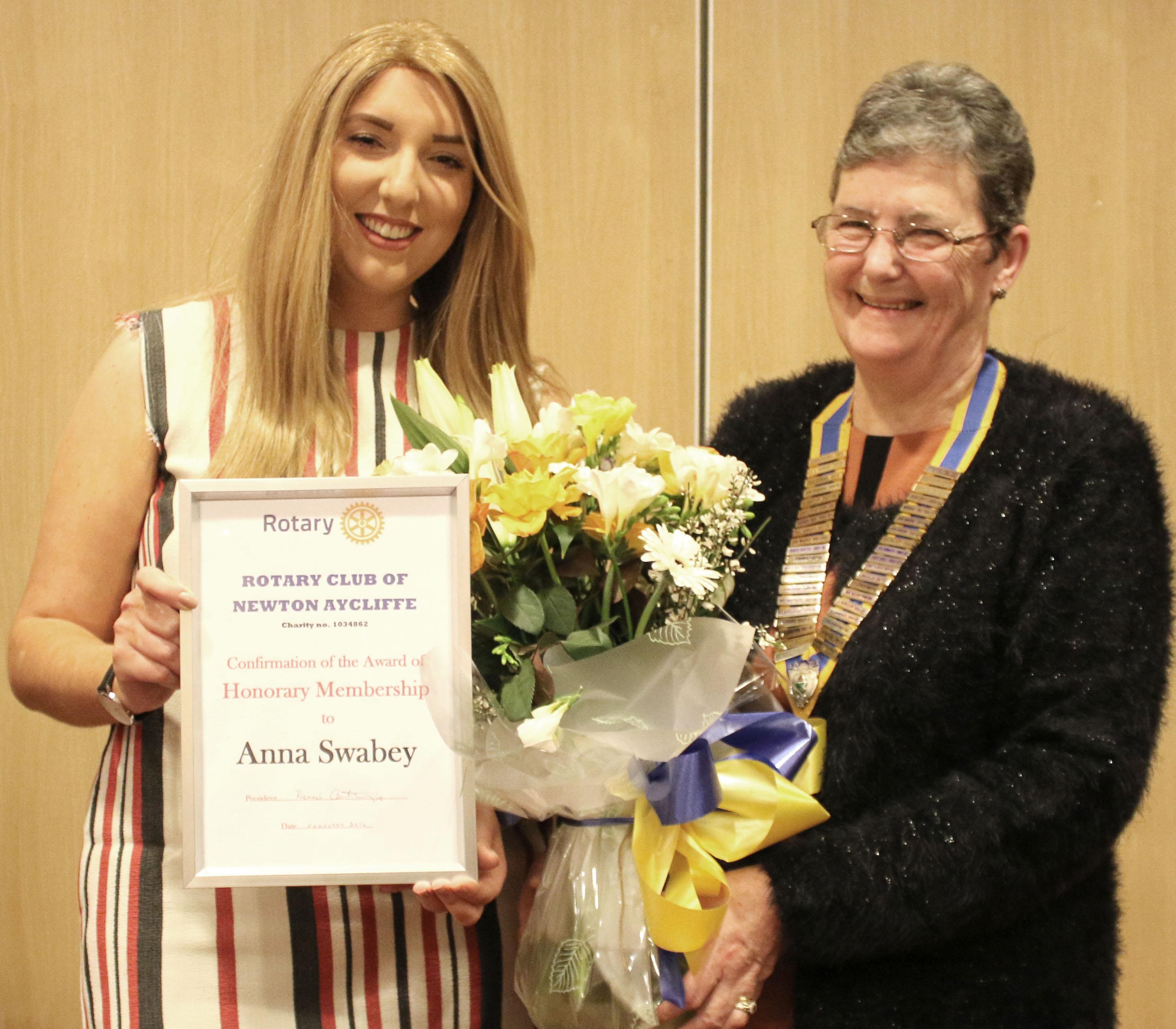 UK Award for Aycliffe Cancer Campaigner