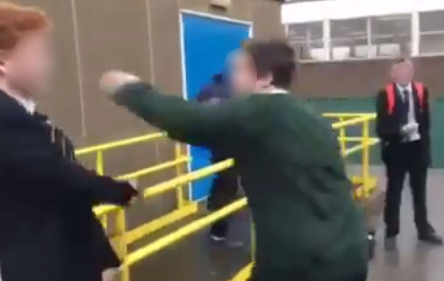 Disabled Boy Being Bullied Goes Viral