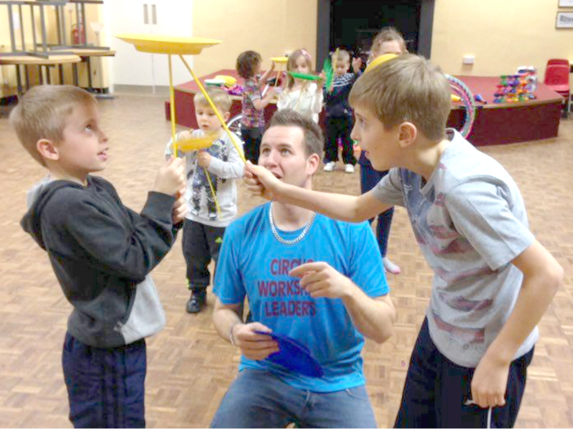 Learn Circus Skills at Half Term