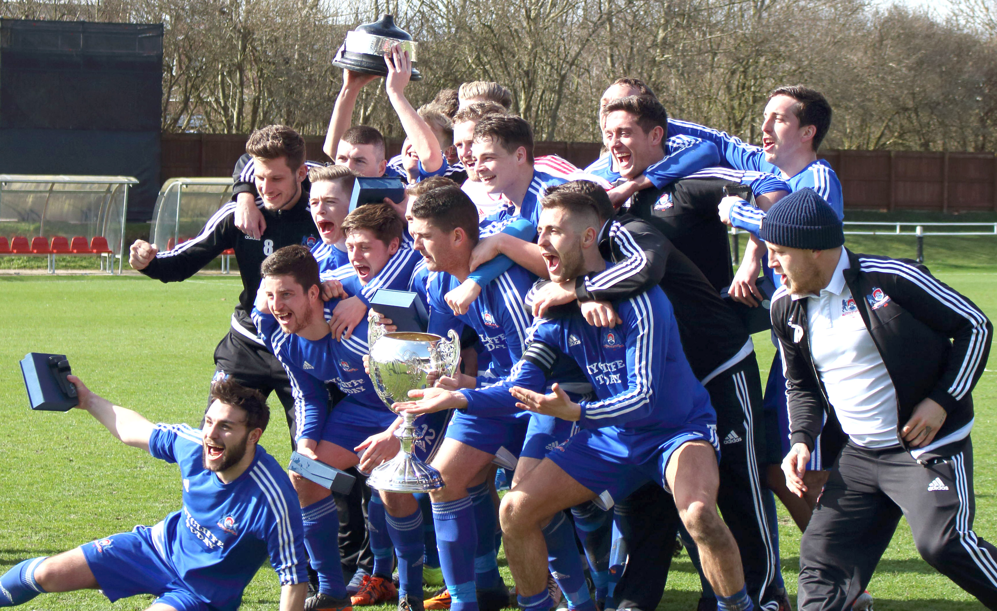 Delight as Aycliffe F.C. Win Durham Challenge Cup