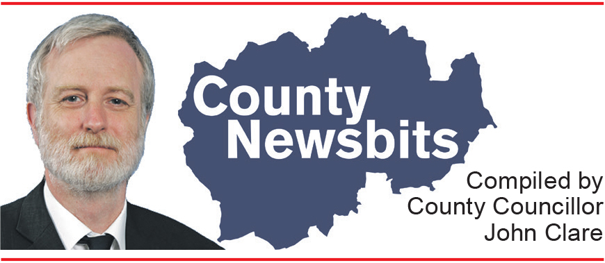 County Newsbits Compiled by County Councillor John Clare