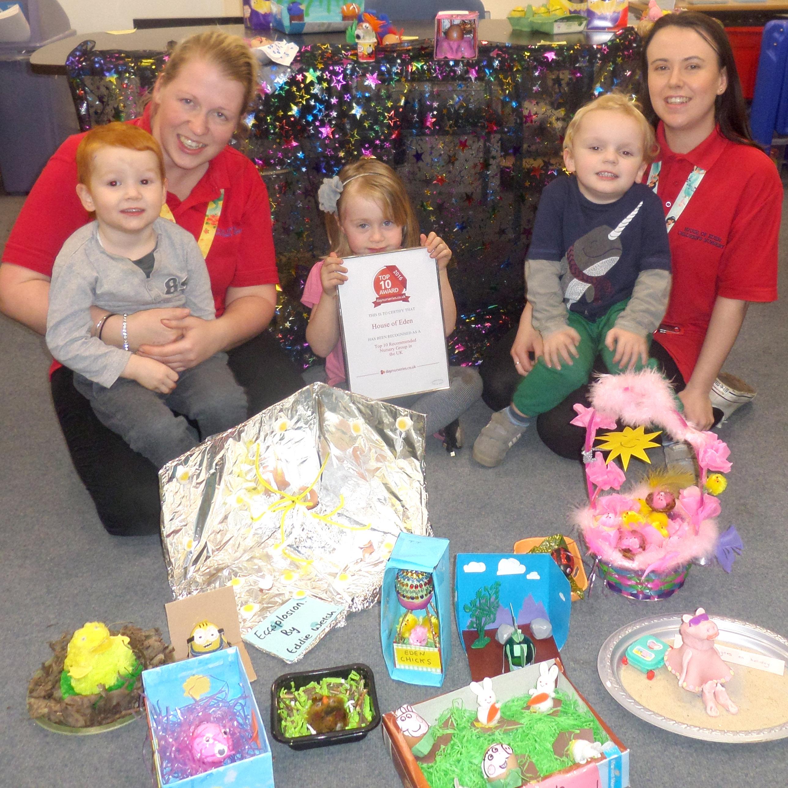 Aycliffe Nursery in Region's Top Ten