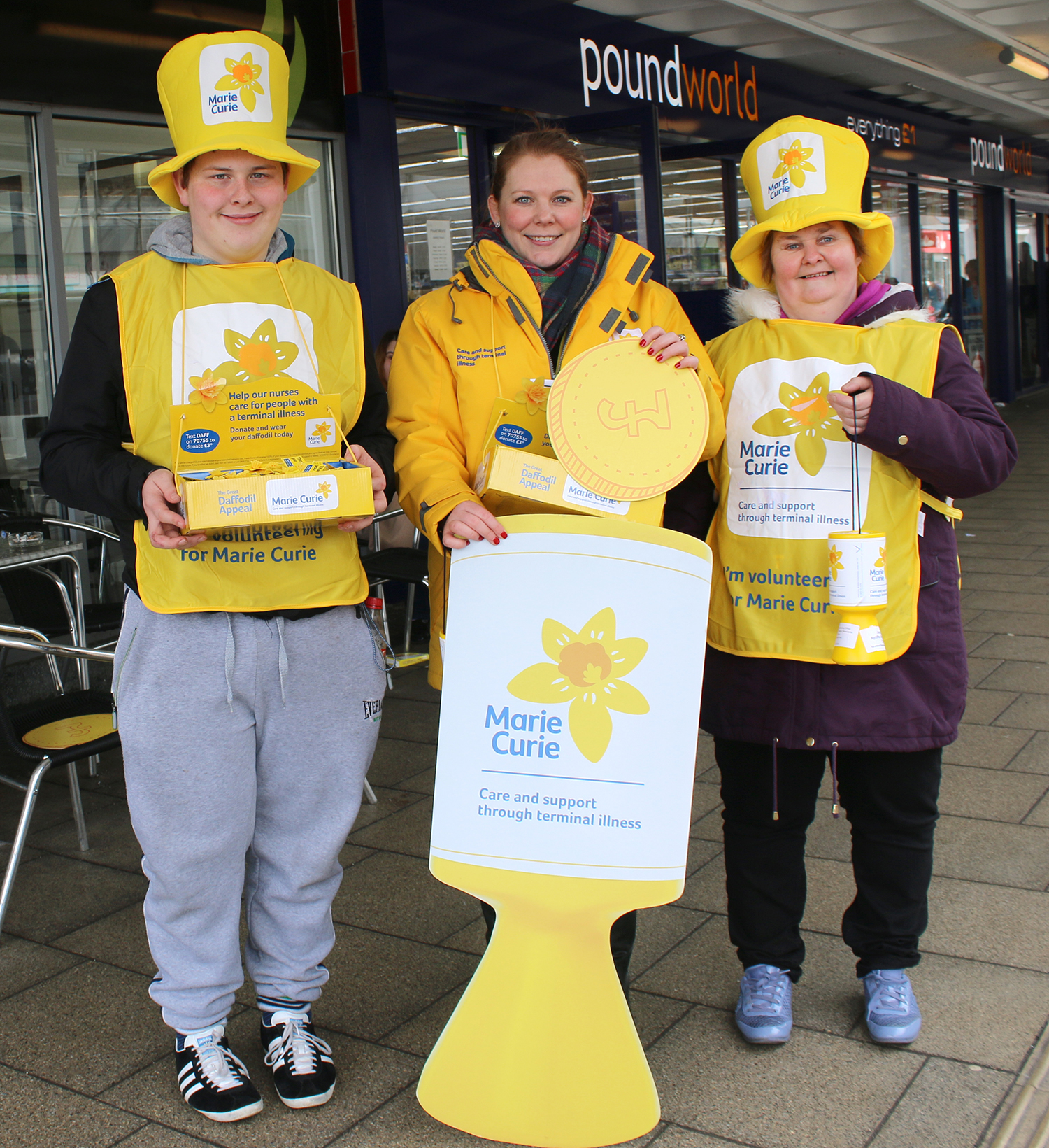 Join the Aycliffe Branch of Marie Curie Charity