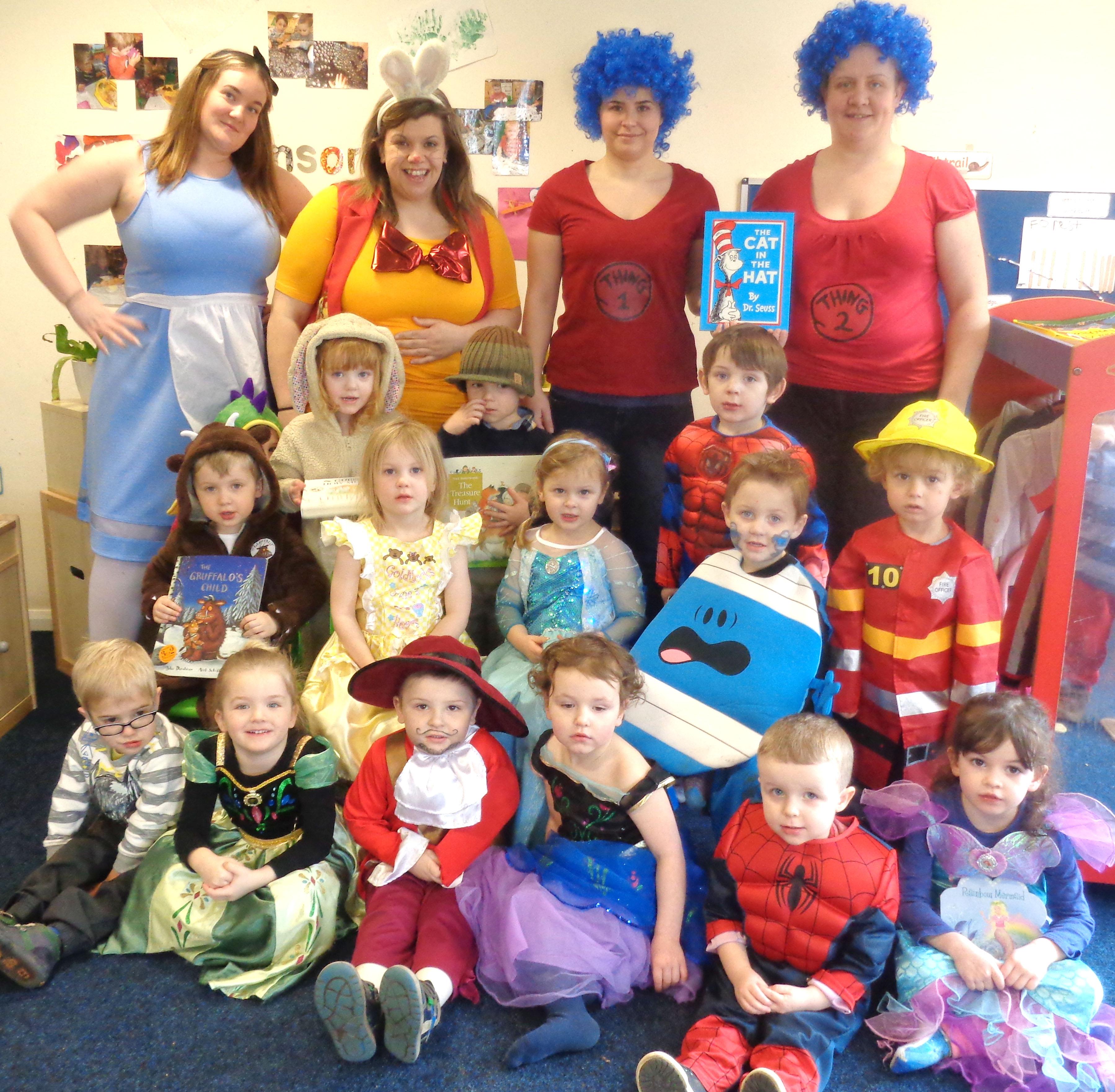 Aycliffe Village School World Book Day