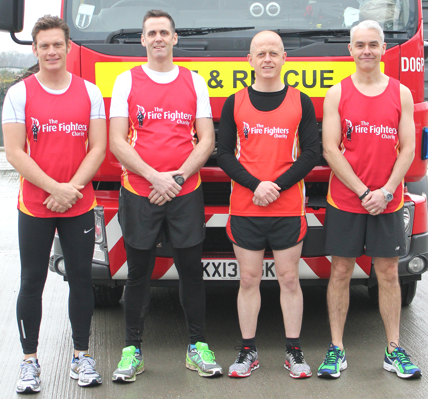 Fire Officers on the Run