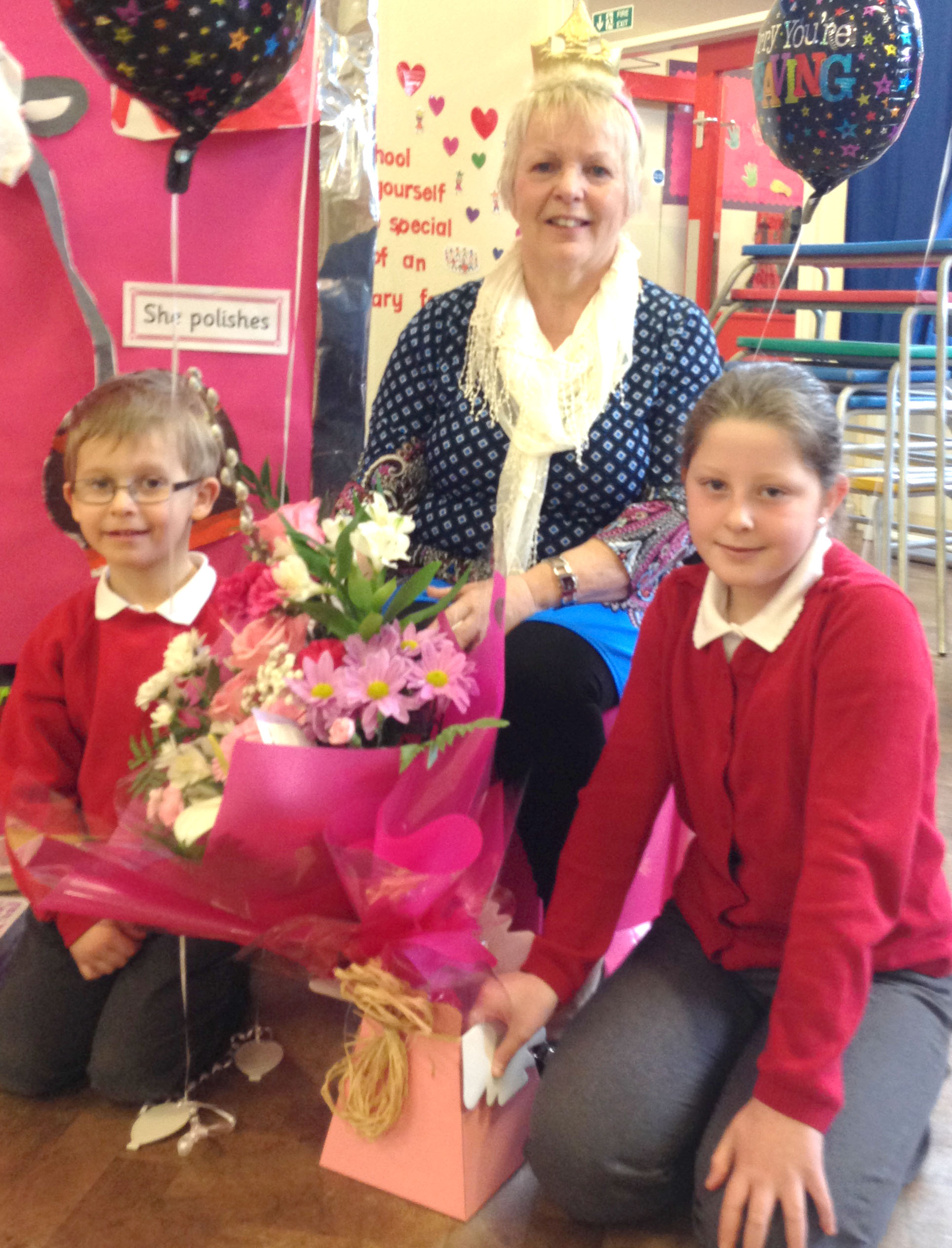 Caretaker Retires After 30 Years Service