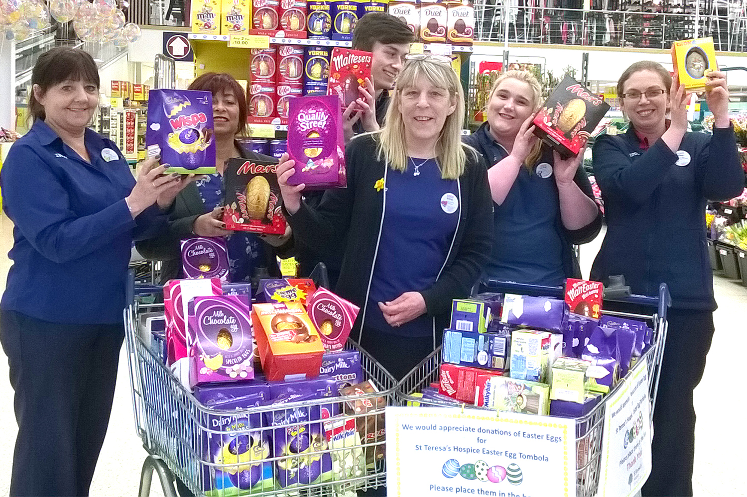 Tesco Easter Egg Collection for Hospice