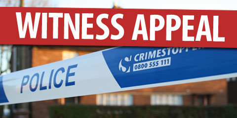 Police Appeal For Witness
