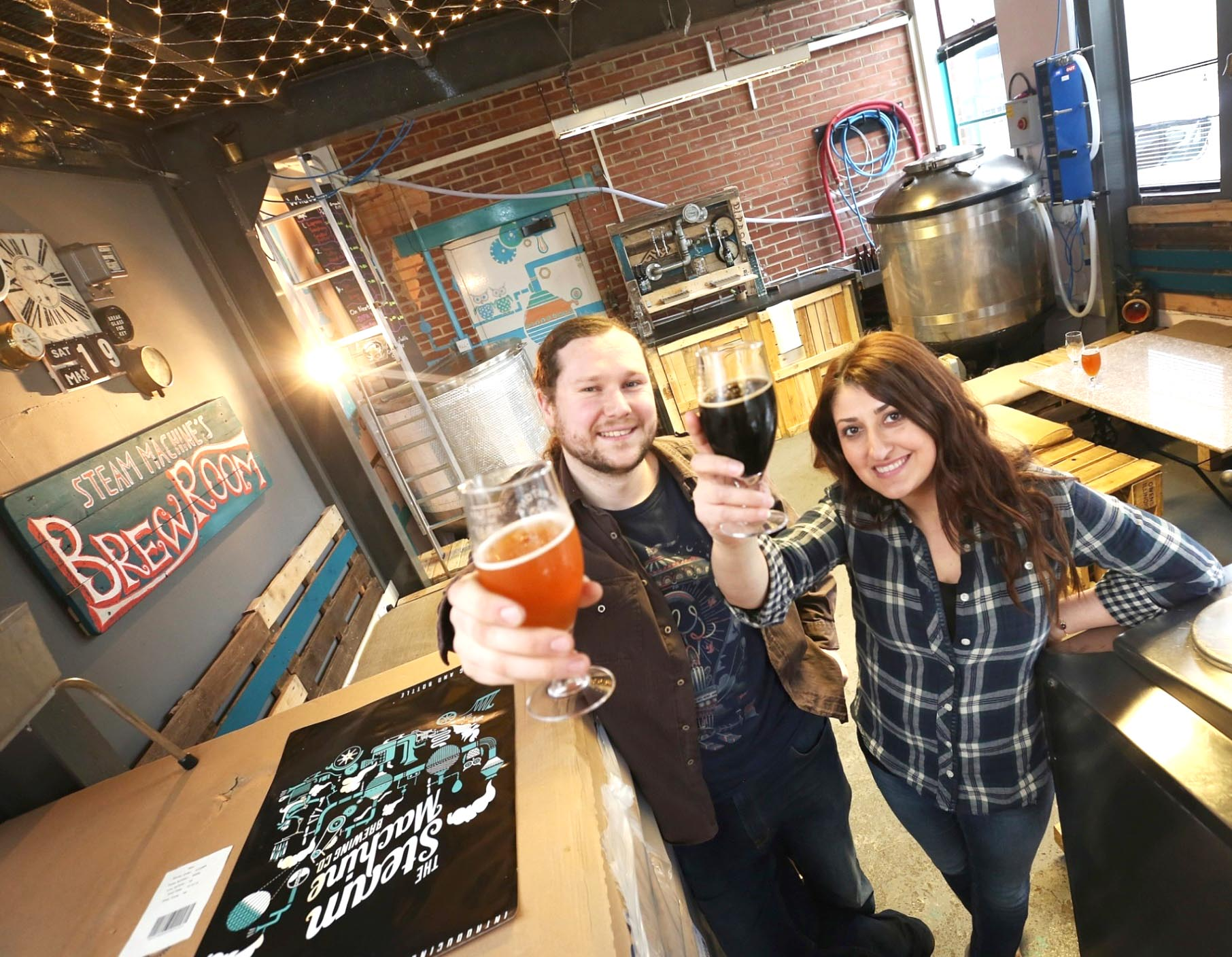 Aycliffe Brewers Feature the Science of Beer Making