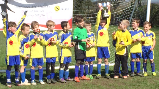 Heighington Under 8's  3rd Division Champs