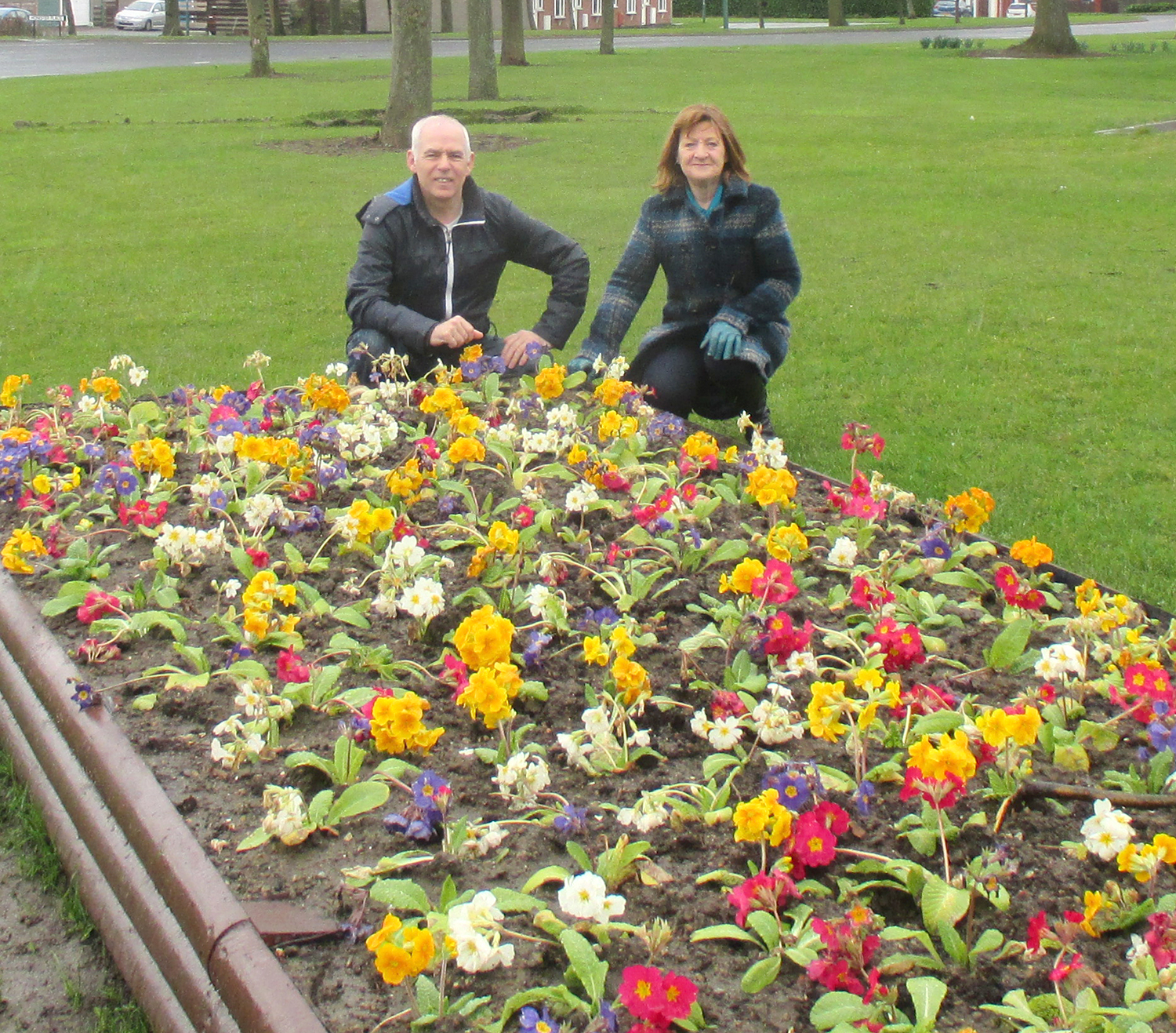 Flower Beds for  Williamfield Way