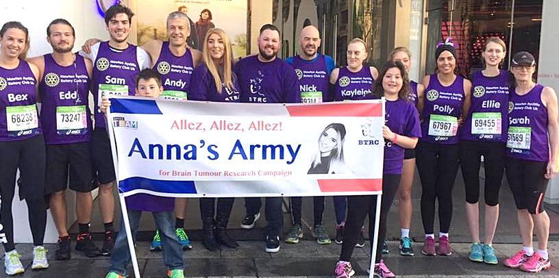 'Anna's Army' Raises £1000's in Paris Marathon
