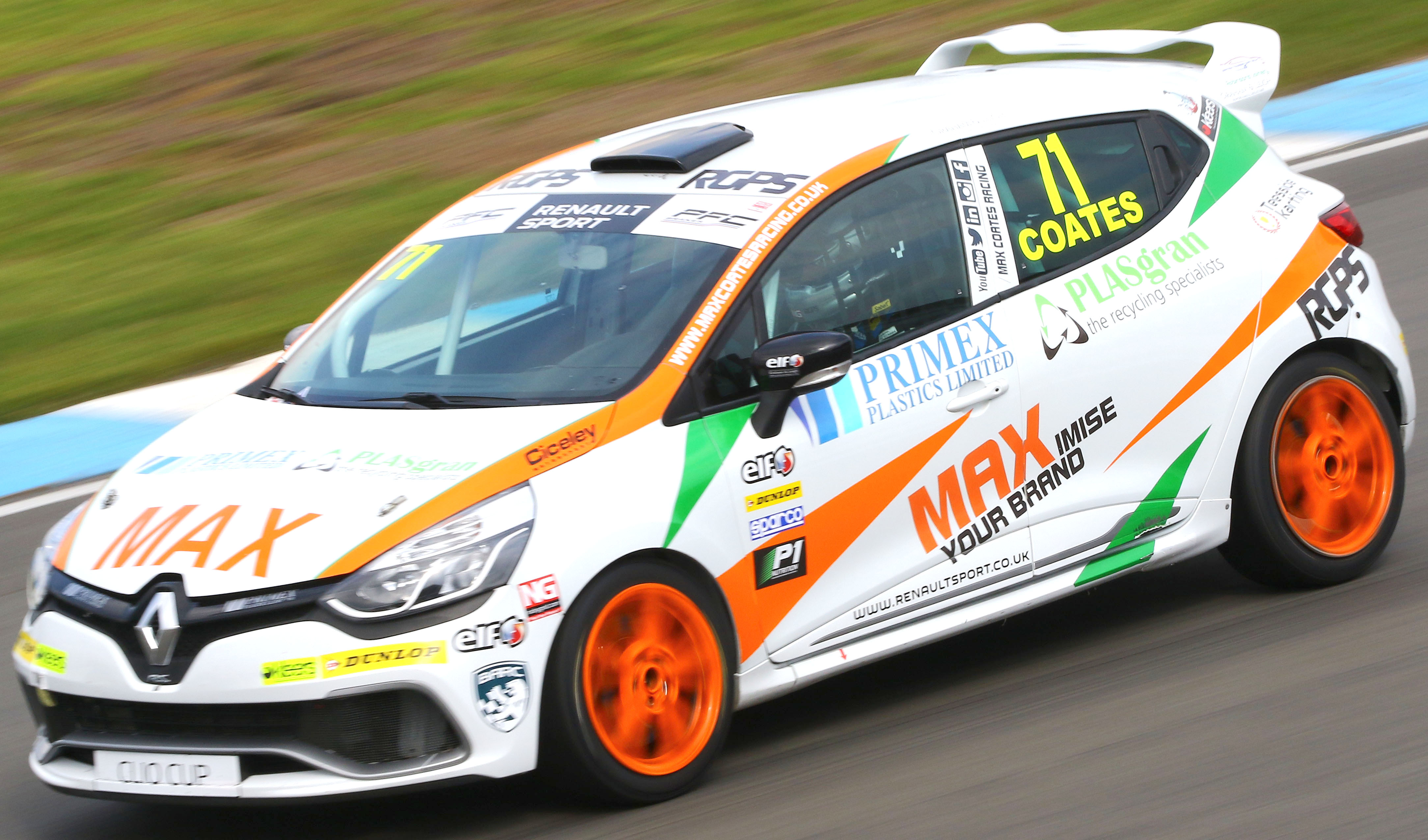 Aycliffe Firm Sponsors Racing Driver
