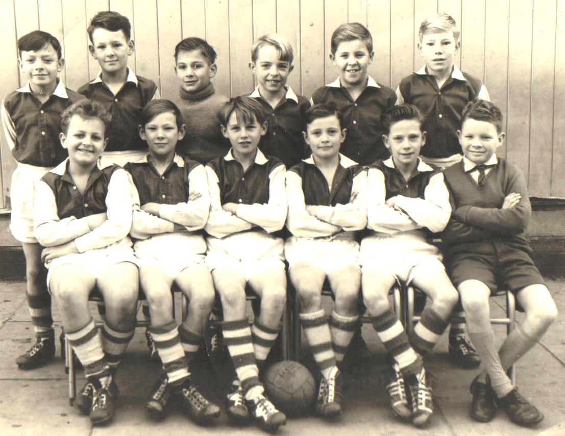 55 Year old Team Photo