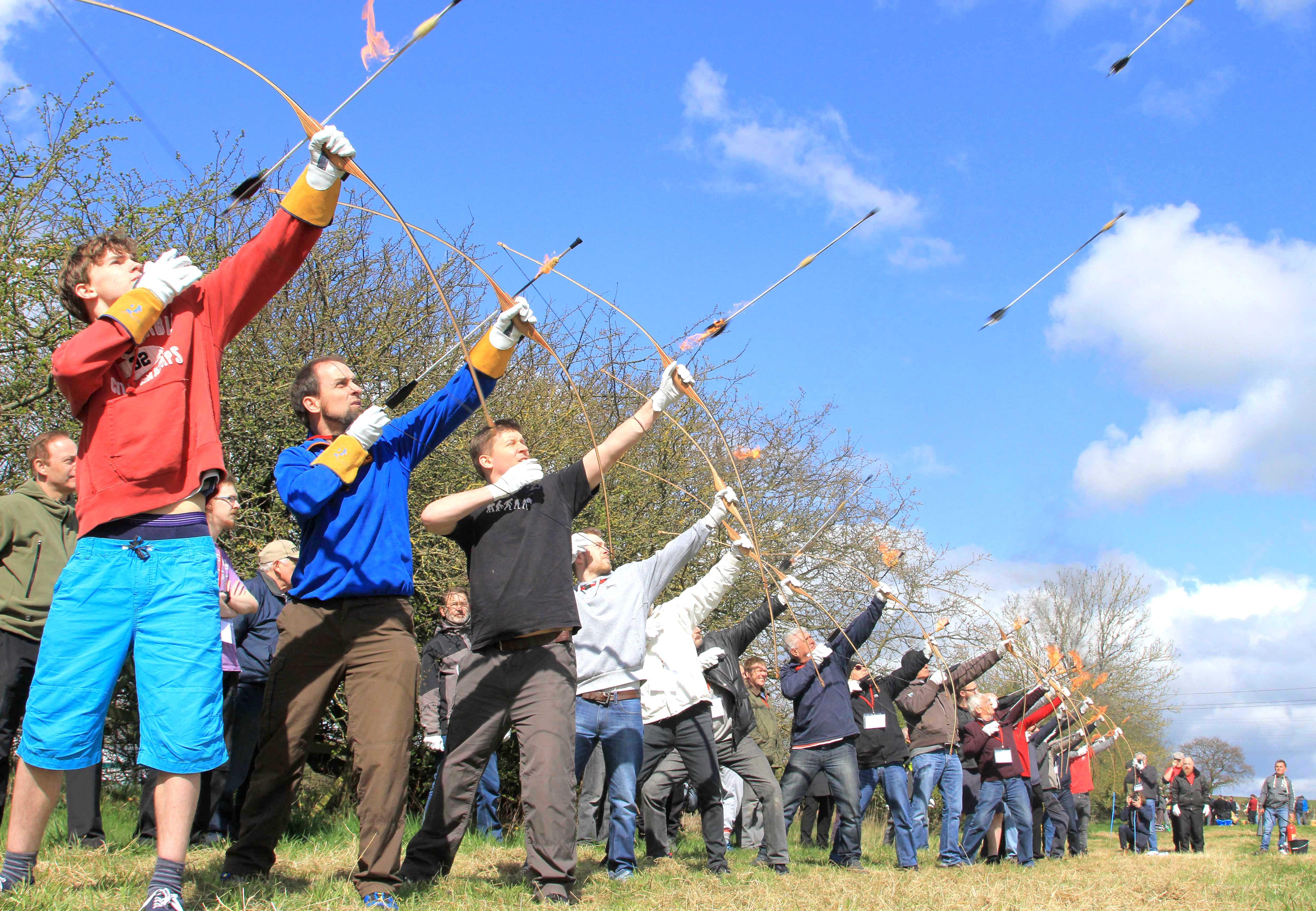 Archers on Target for Kynren