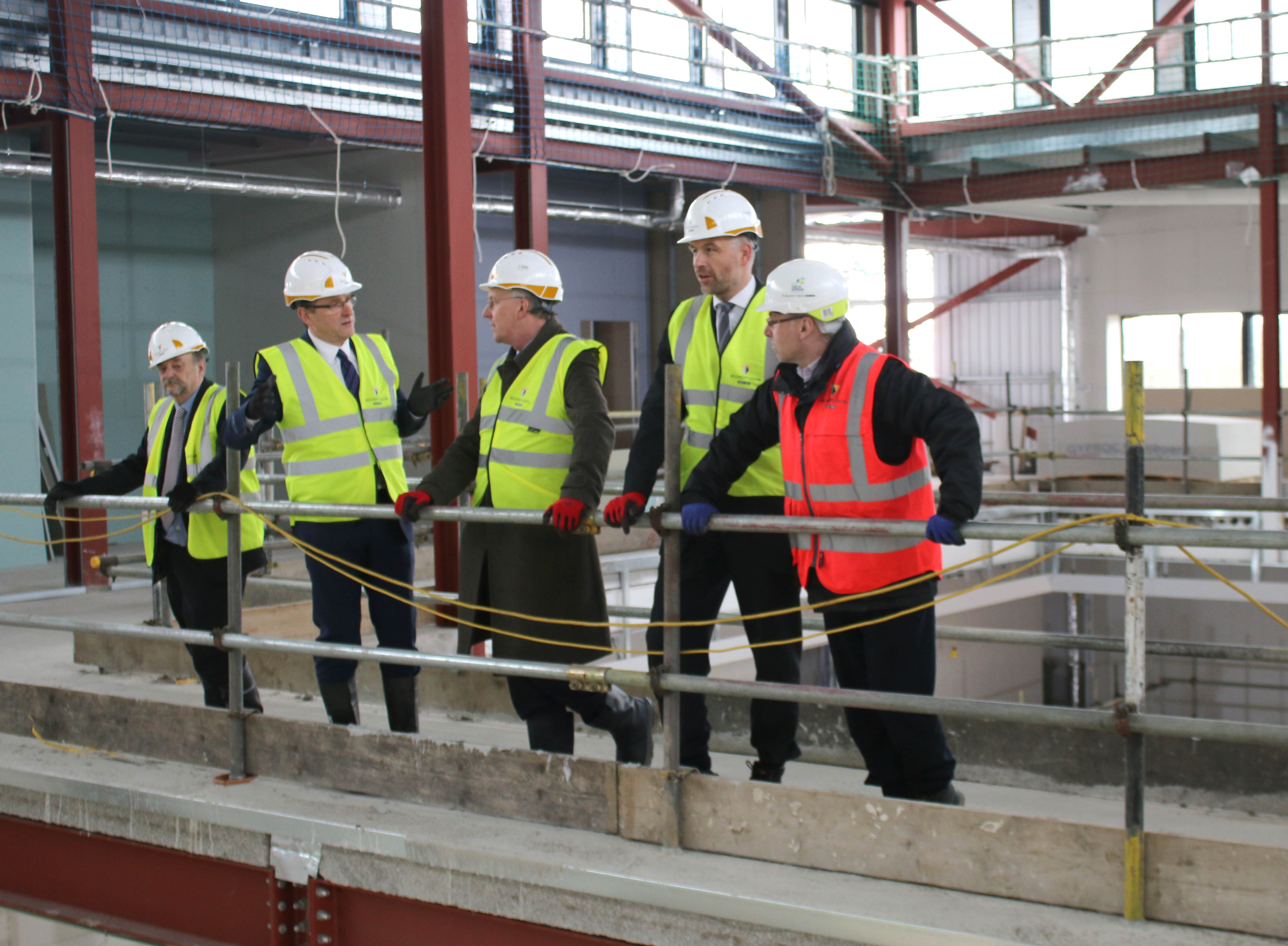 Labour's Shadow Minister Visits Newton Aycliffe UTC