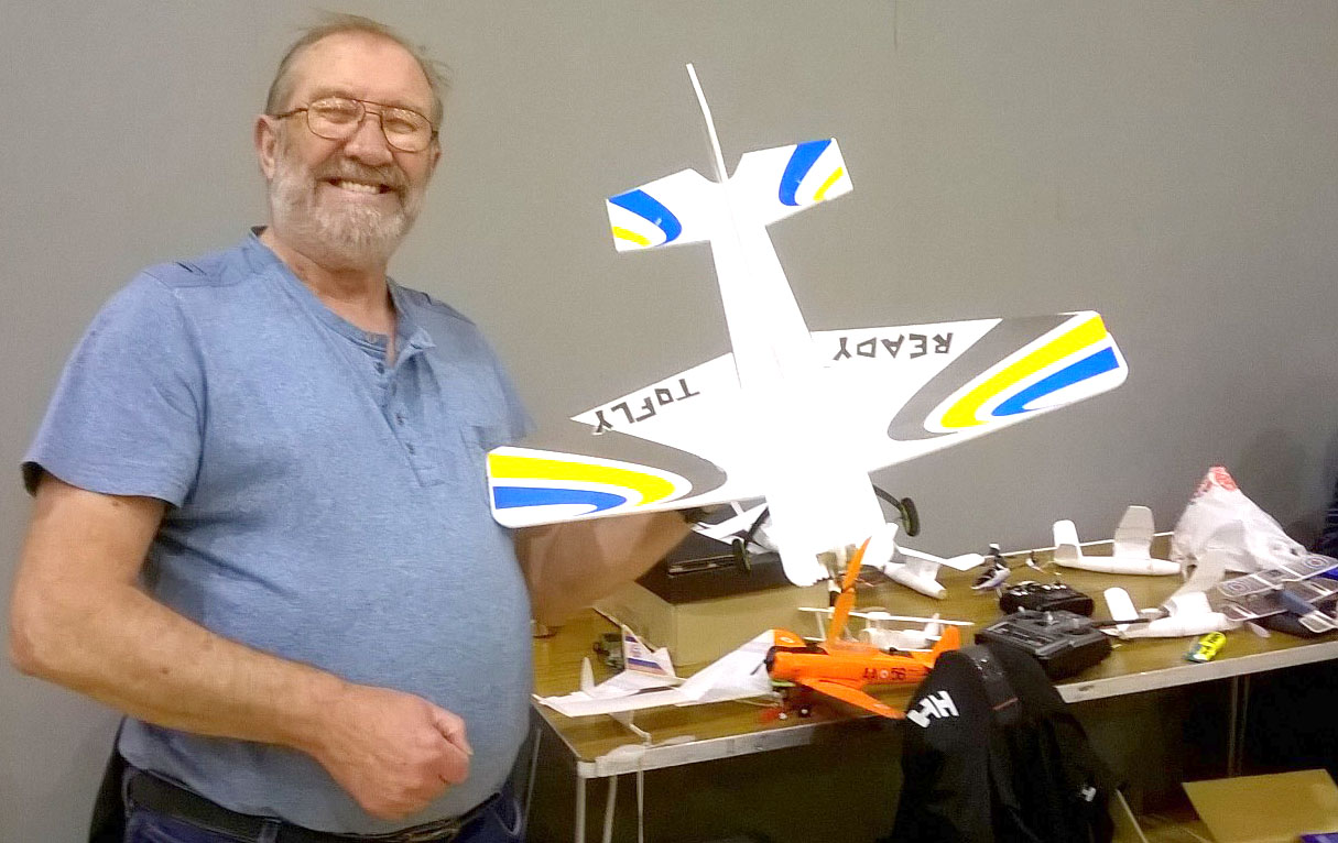 Model Plane Event at the Leisure Centre