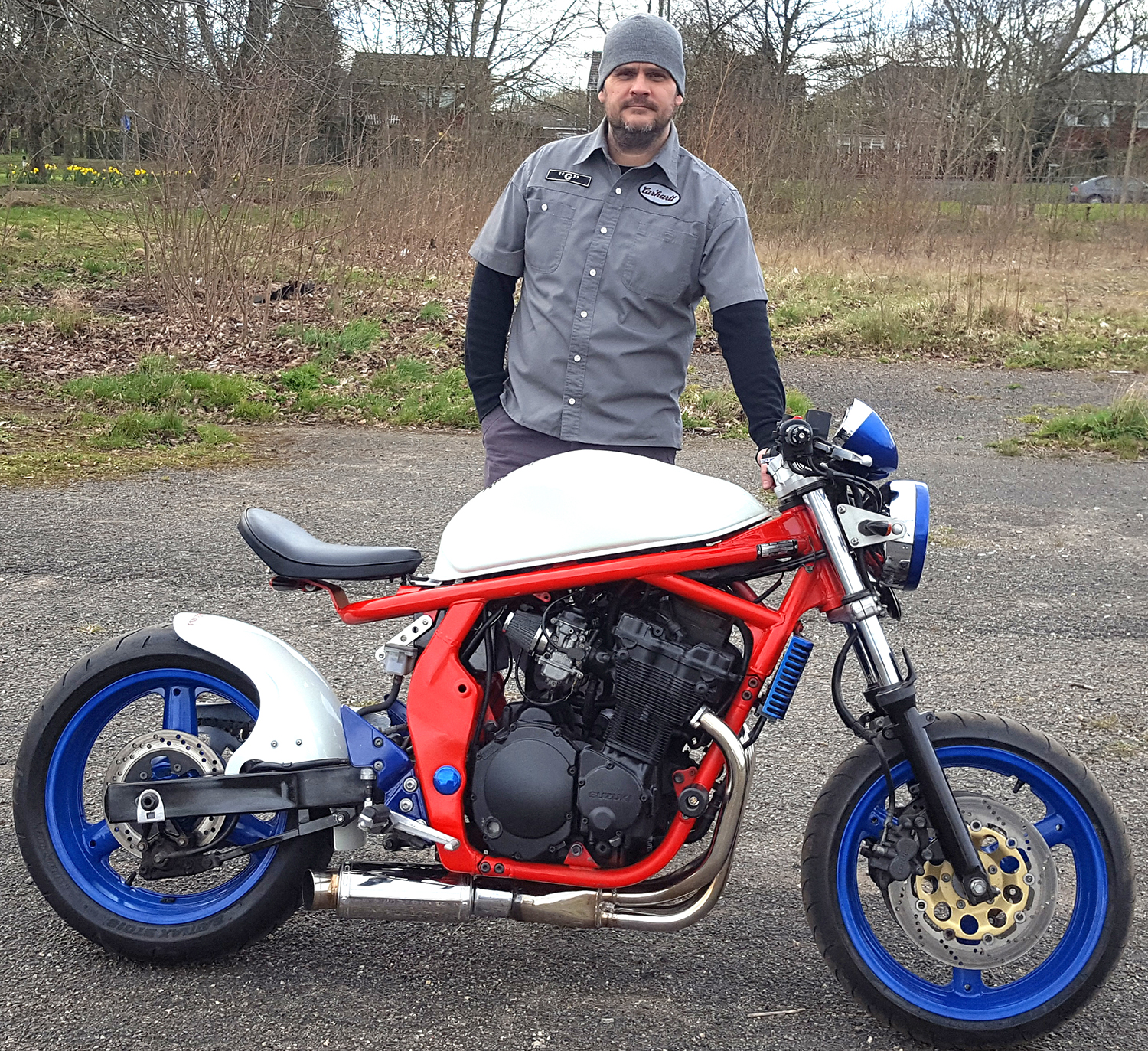 Newtonian Builds Bike for Charity
