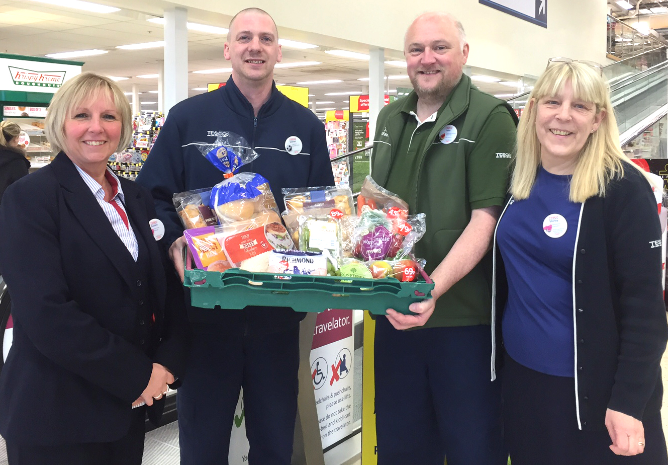 Tesco's Unsold Meals Donated to Charity