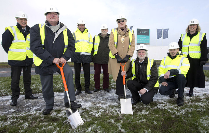 Work Starts on 125 New Houses for Agnew