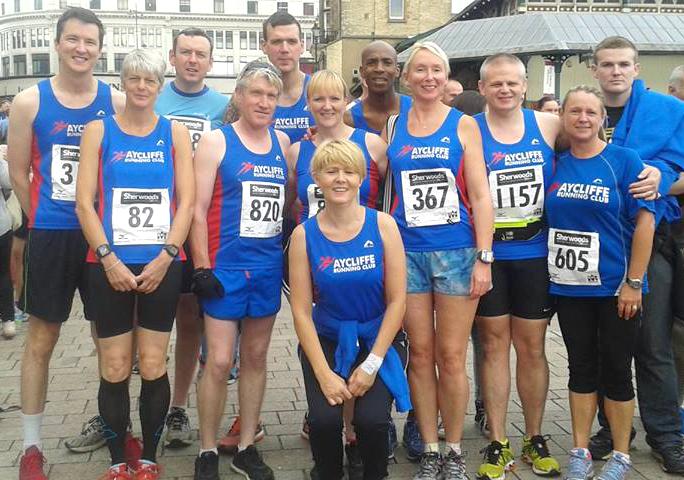 Aycliffe Running Club in Darlington 10K