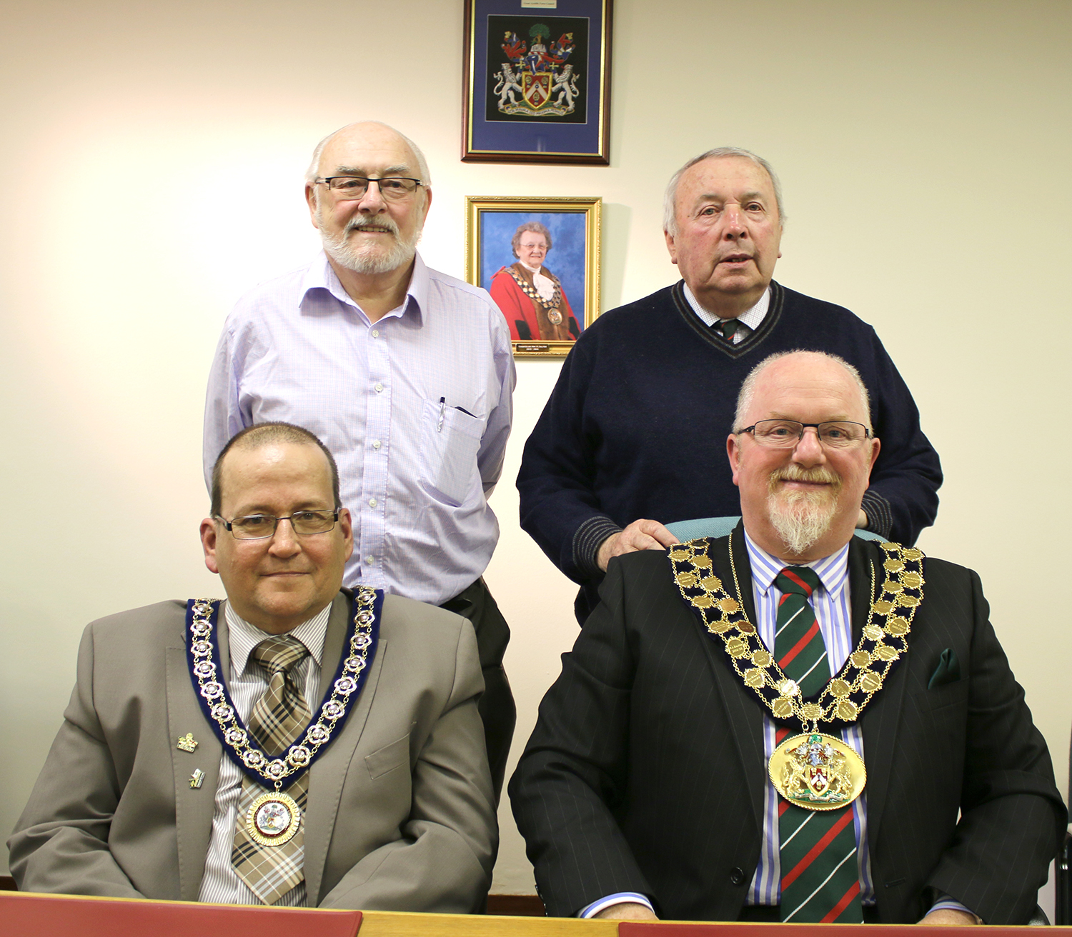 Men in Charge at Great Aycliffe Town Council