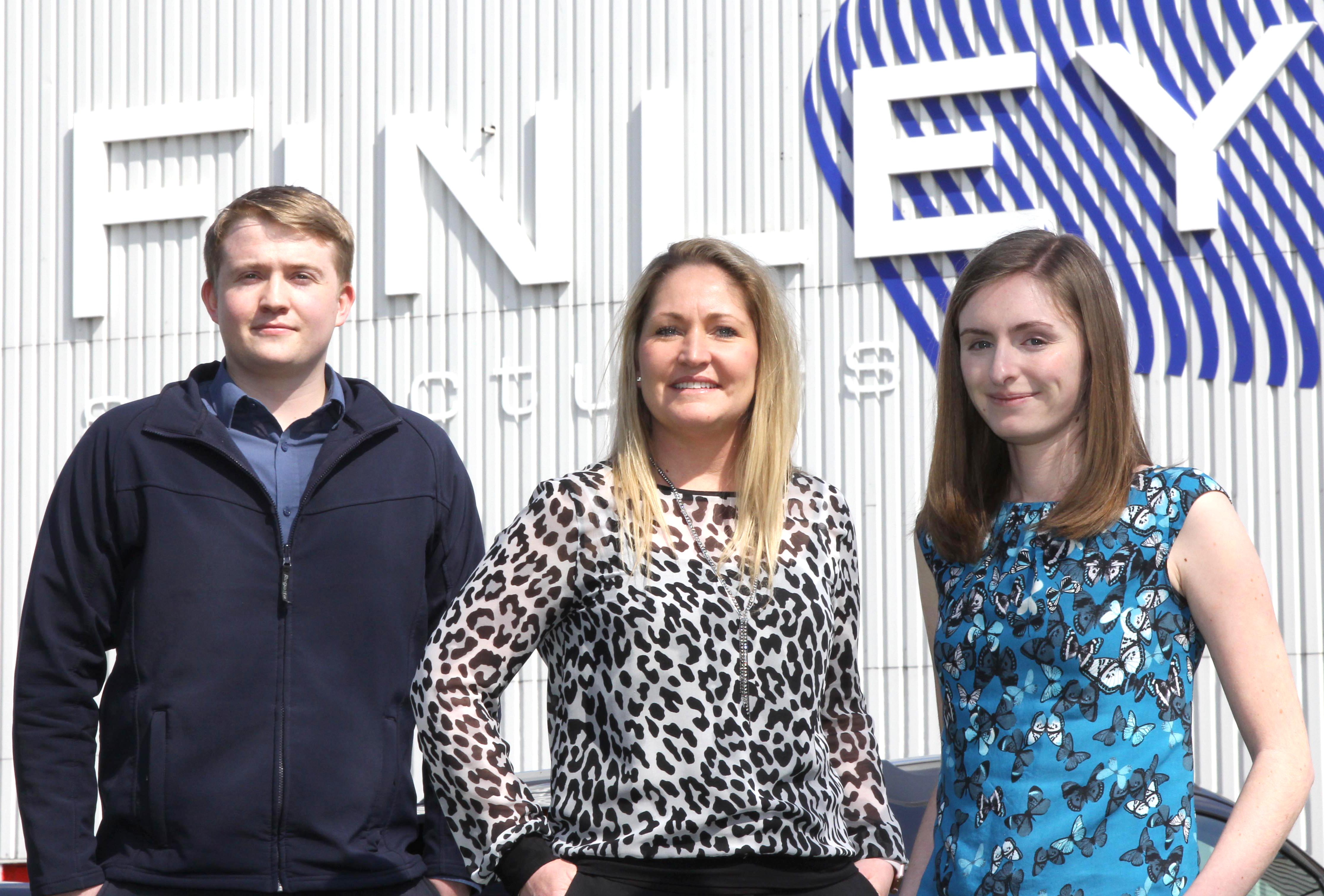Finley Structures Employ Two Graduates
