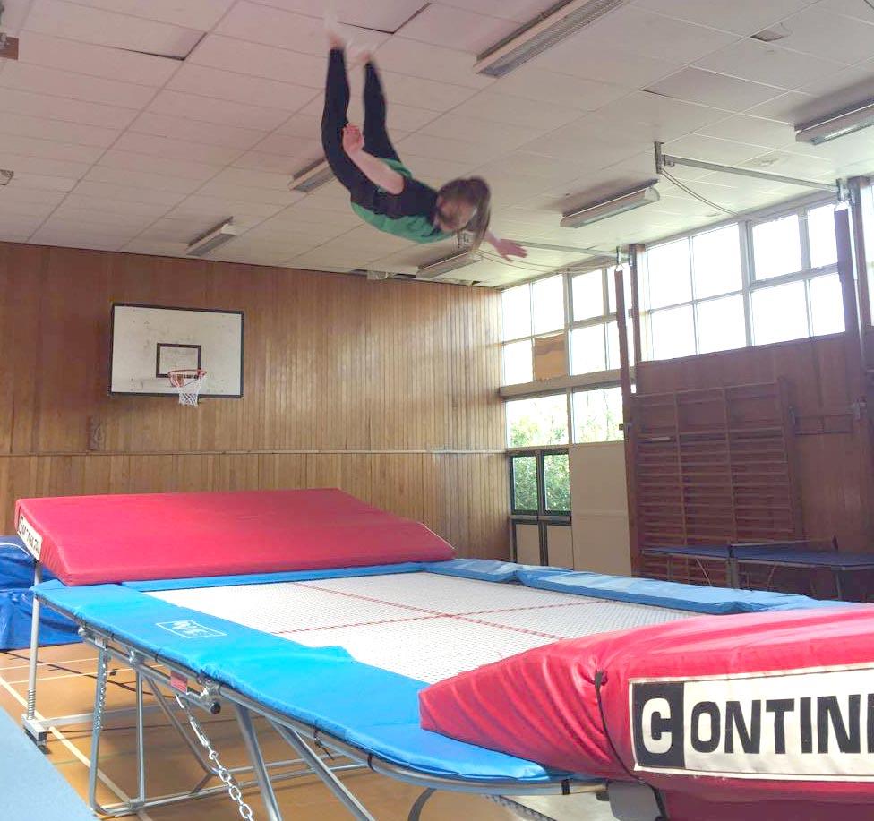 Trampoline Club at Woodham Academy