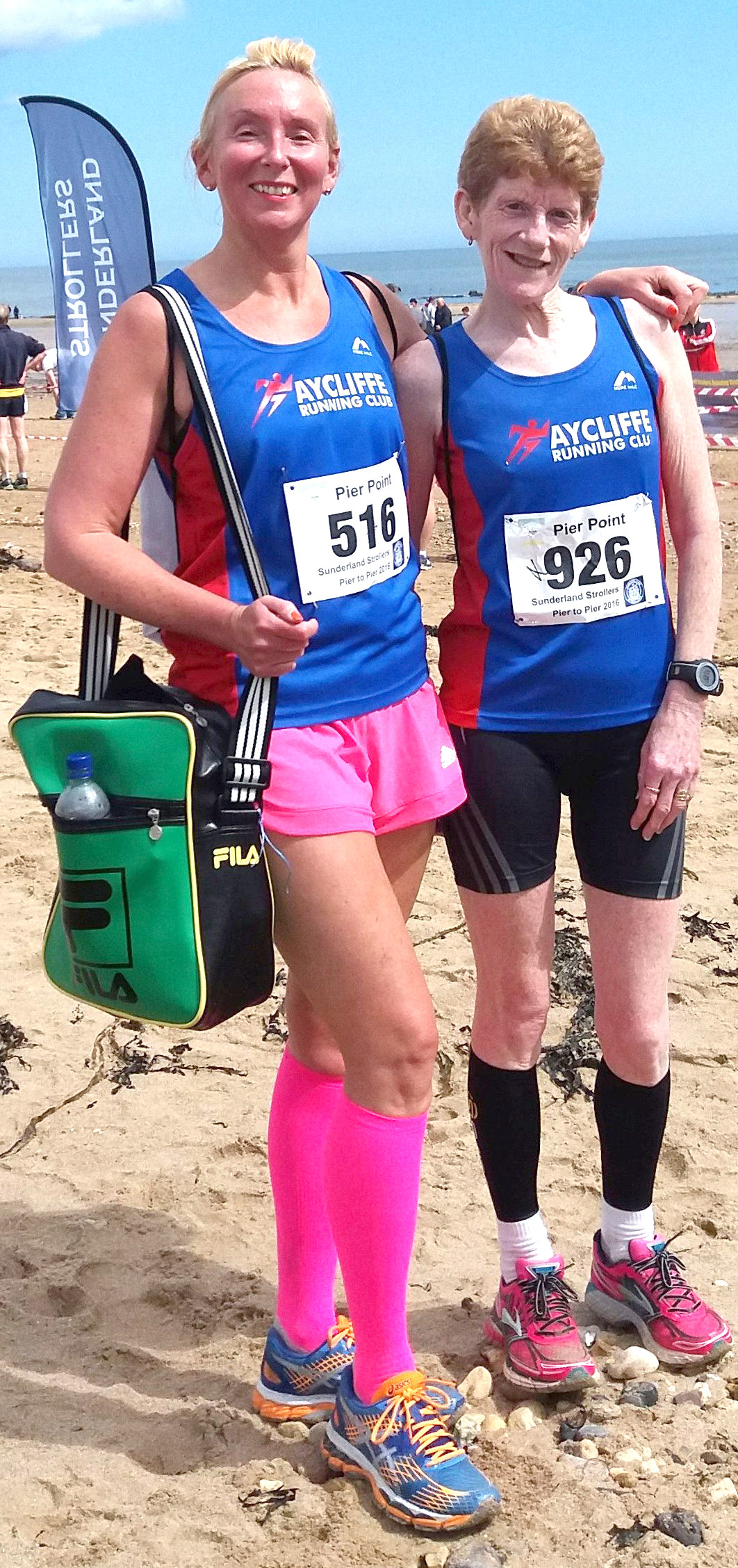 Aycliffe Runners in Lord Stones Café & Pier to Pier Races