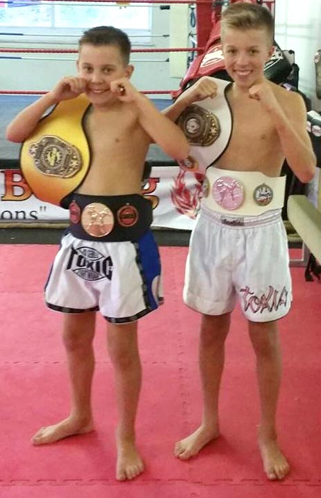 British Titles for Aycliffe Thai Boxers