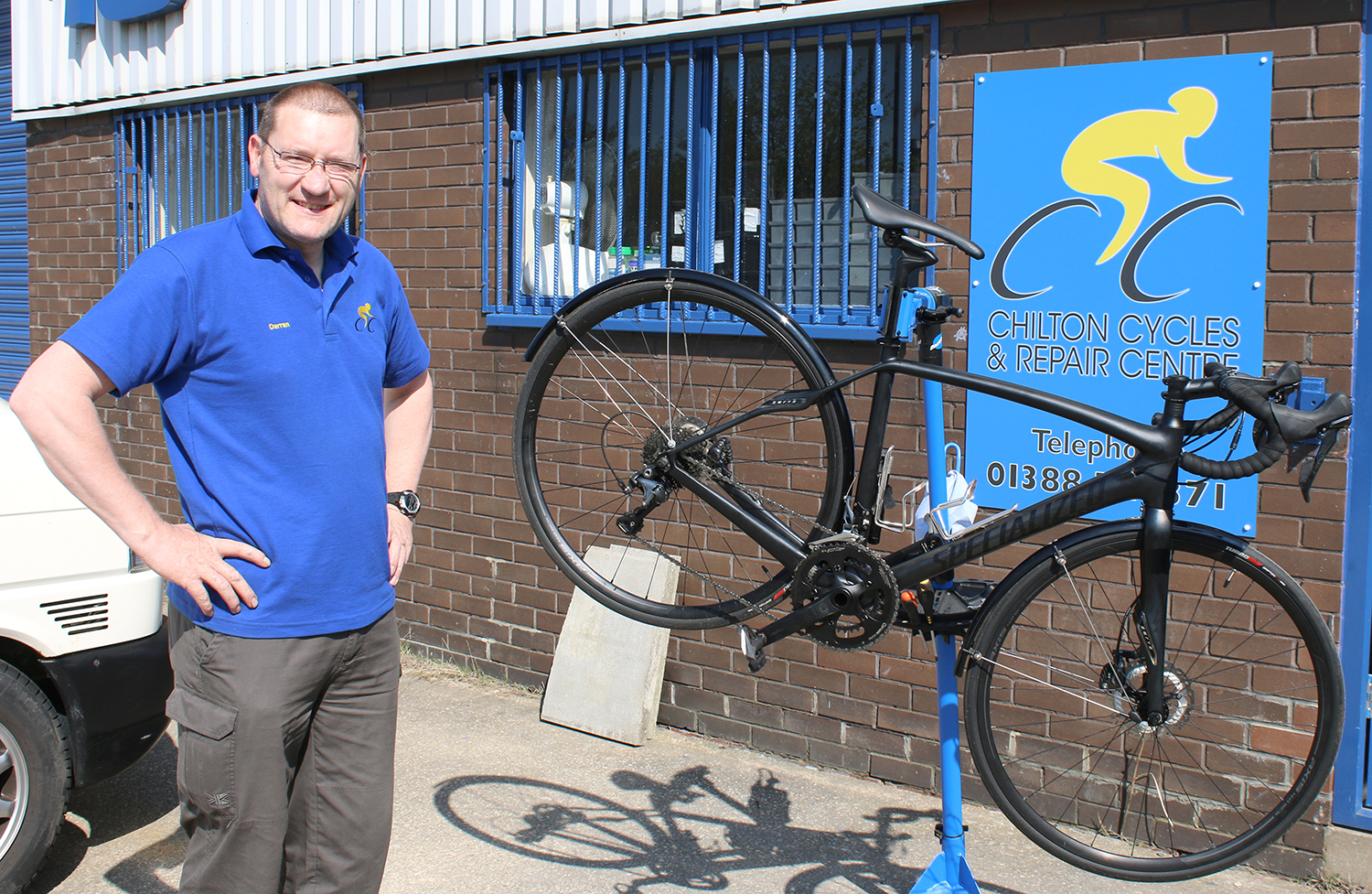 Aycliffe Entrepreneur Opens Cycle Business