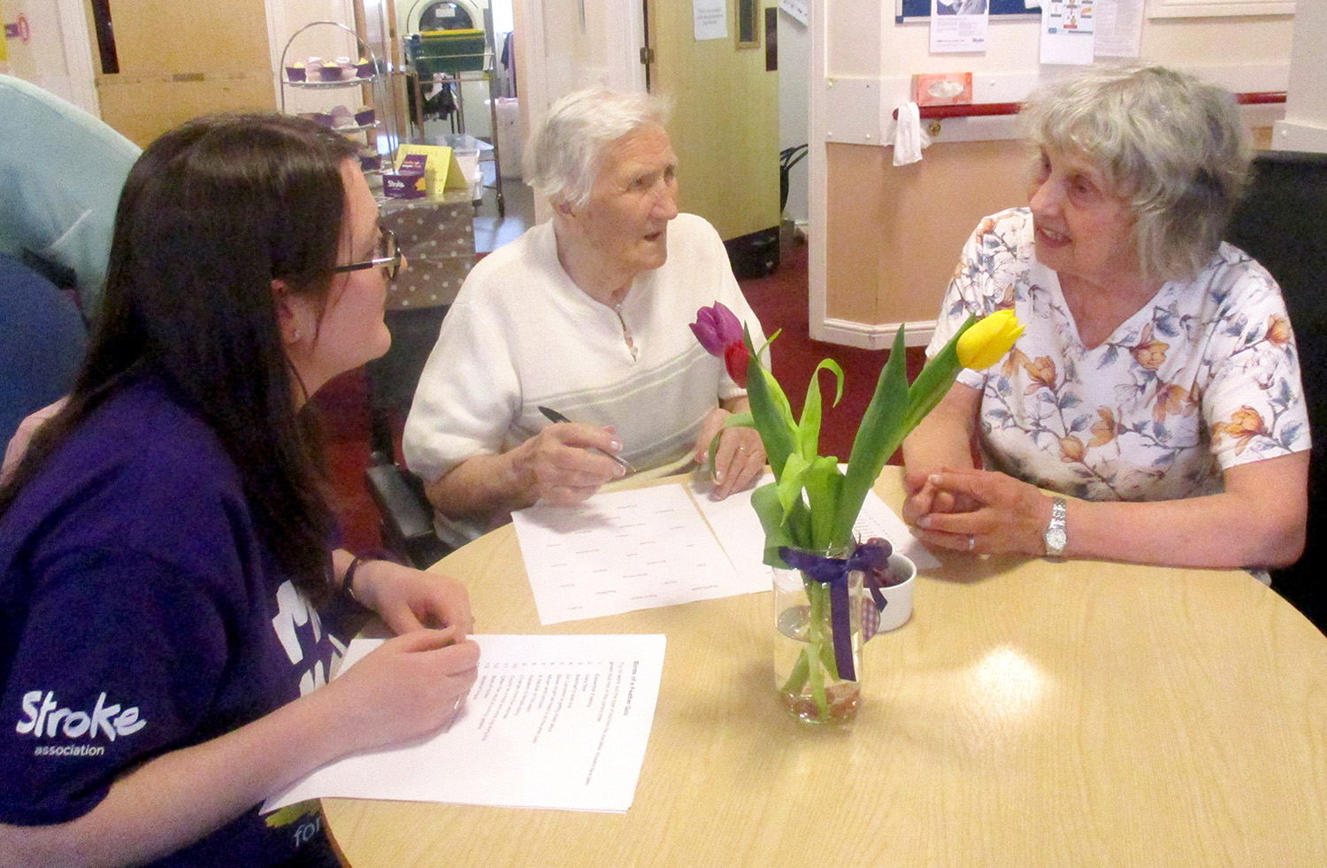 Rose Lodge Care Home & Stroke Association Team Up
