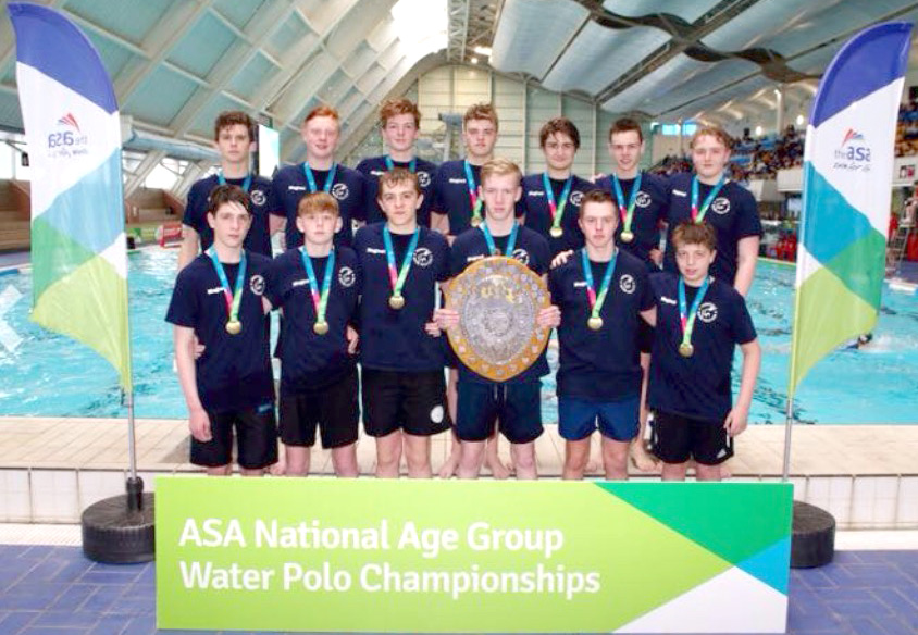 Aycliffe Water Polo Players Remain Champions