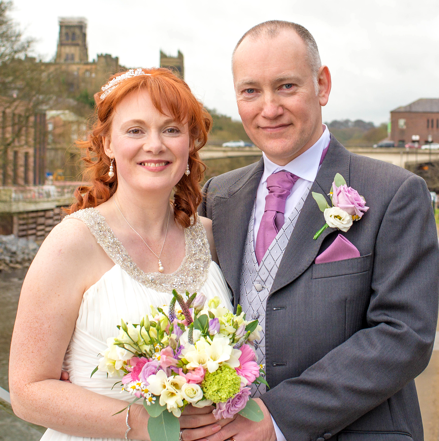 Aycliffe Couple Married