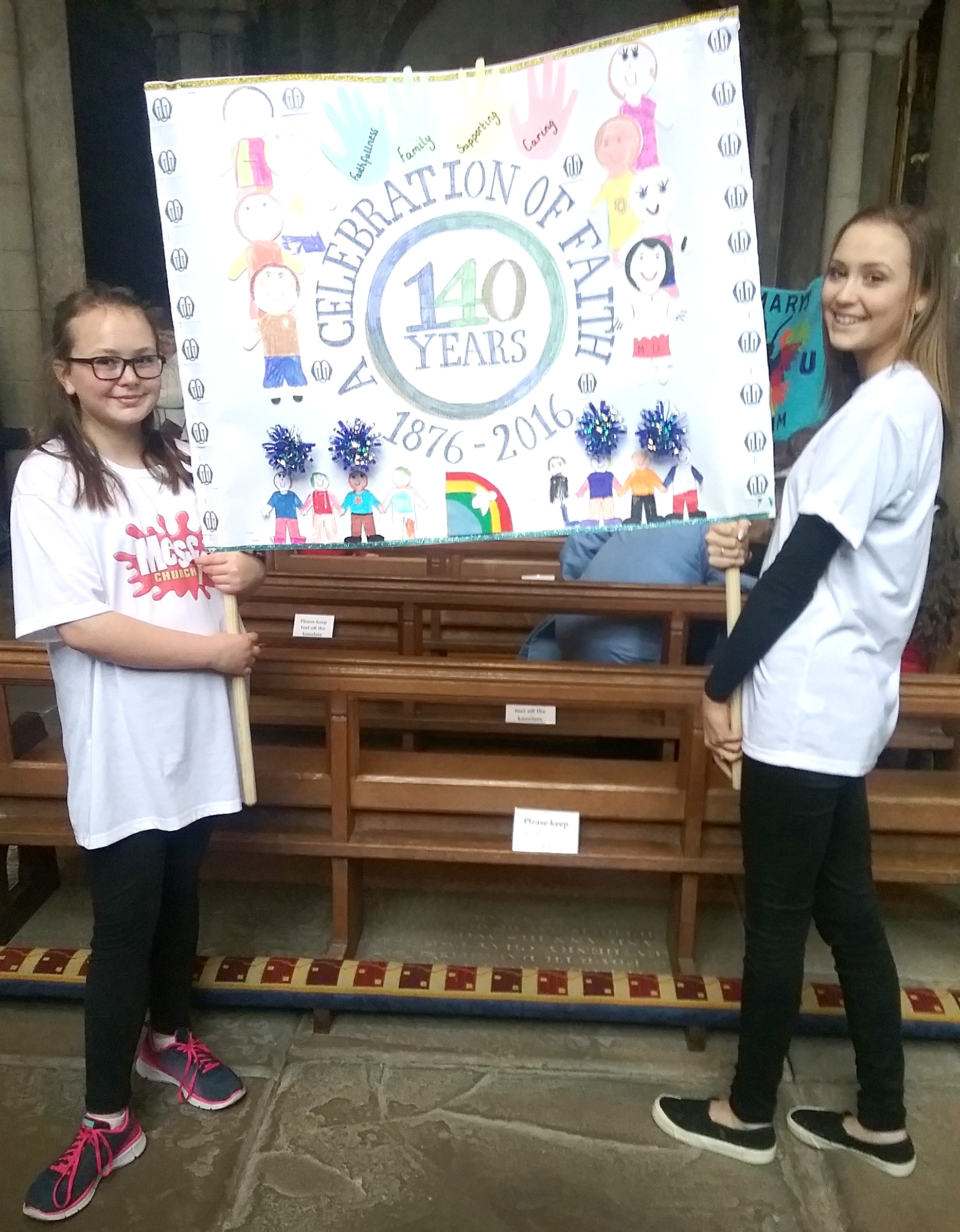 Children Design Banner  for Mothers' Union