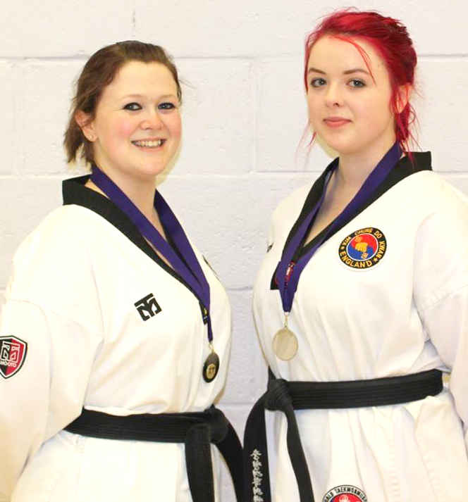 Sisters bring Back Silverware for Aycliffe Club