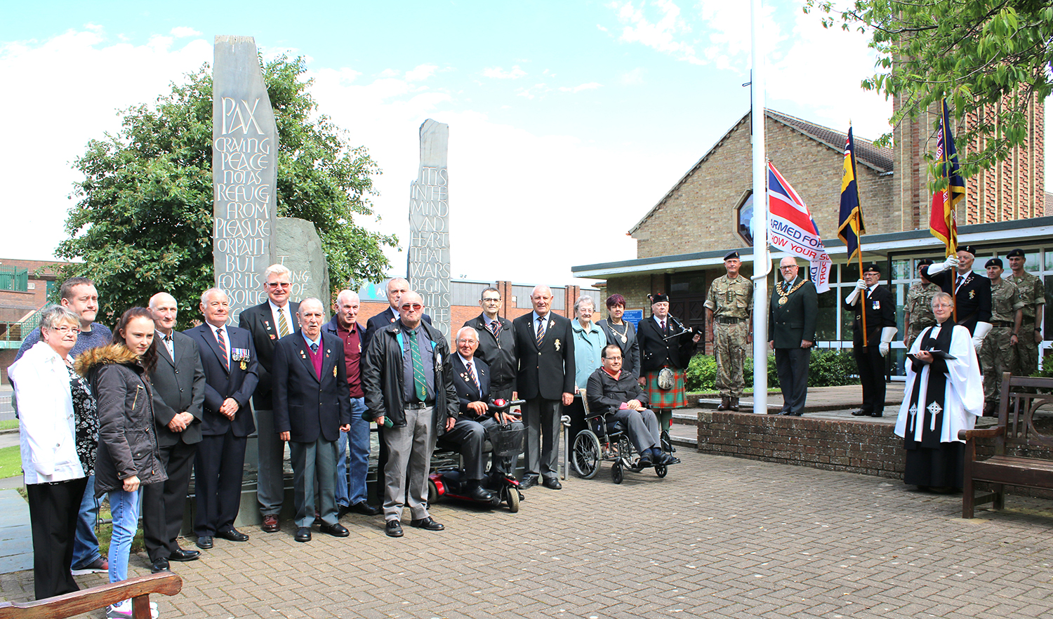 Newton Aycliffe Marks Armed Forces Week