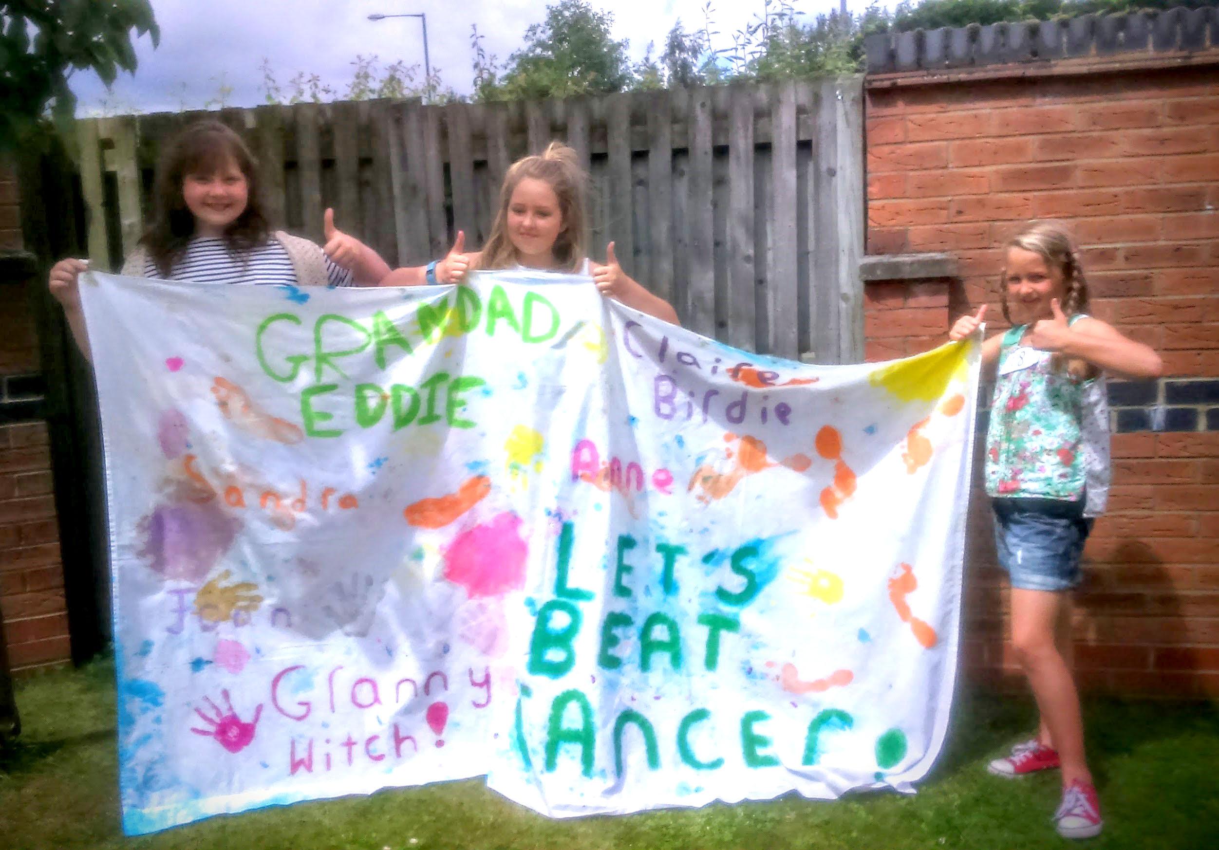 Children Raise Cash for Cancer Research