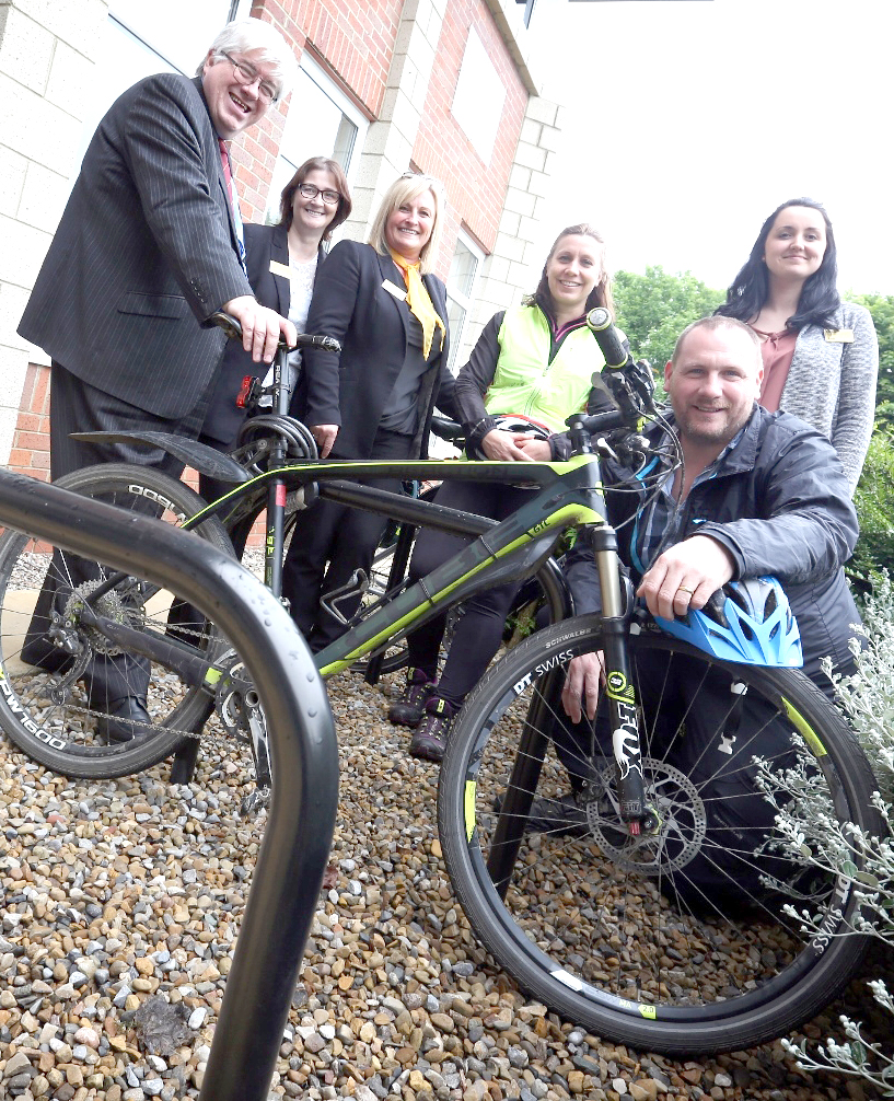 Free Cycle Stands from the Council