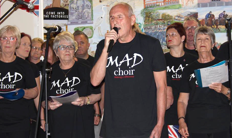 Aycliffe's MAD Choir Launch into Gospel Singing