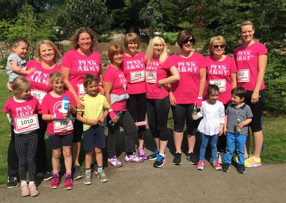 Lucite Race for Life