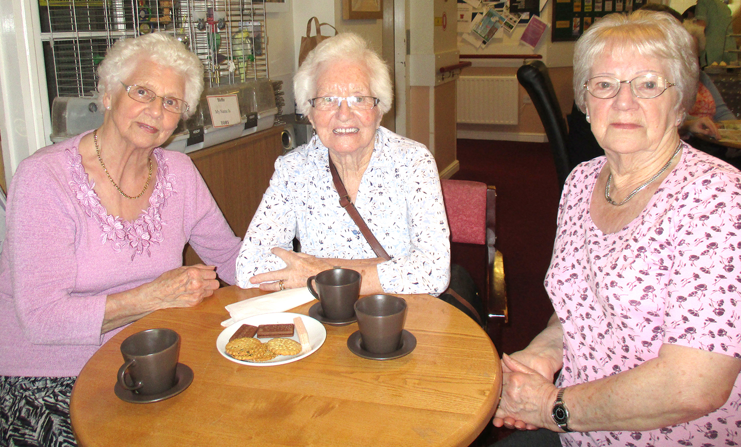 Community Coffee Morning at   care Home Open Day
