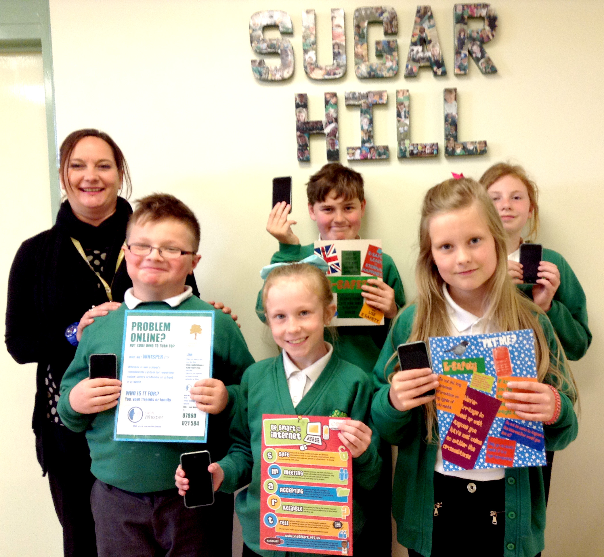 Sugar Hill Receives Rare Award for E-Safety