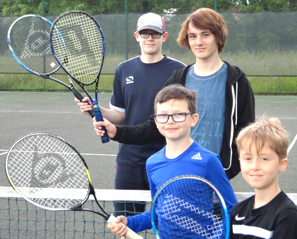Free Junior Tennis in Newton Aycliffe