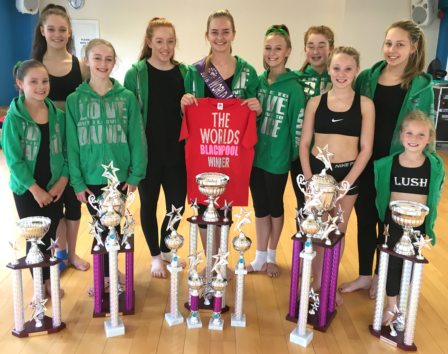 Aycliffe Dancers Bring Home the Trophies