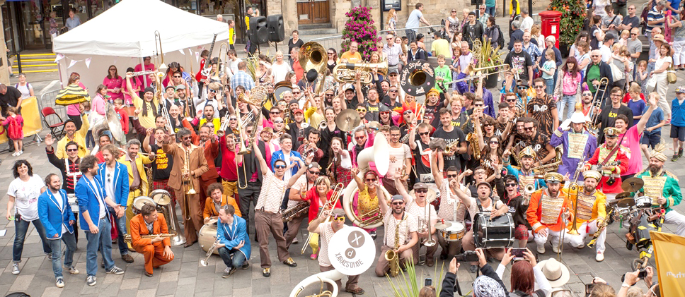 Brass Festival Attracts 1000's to Co. Durham