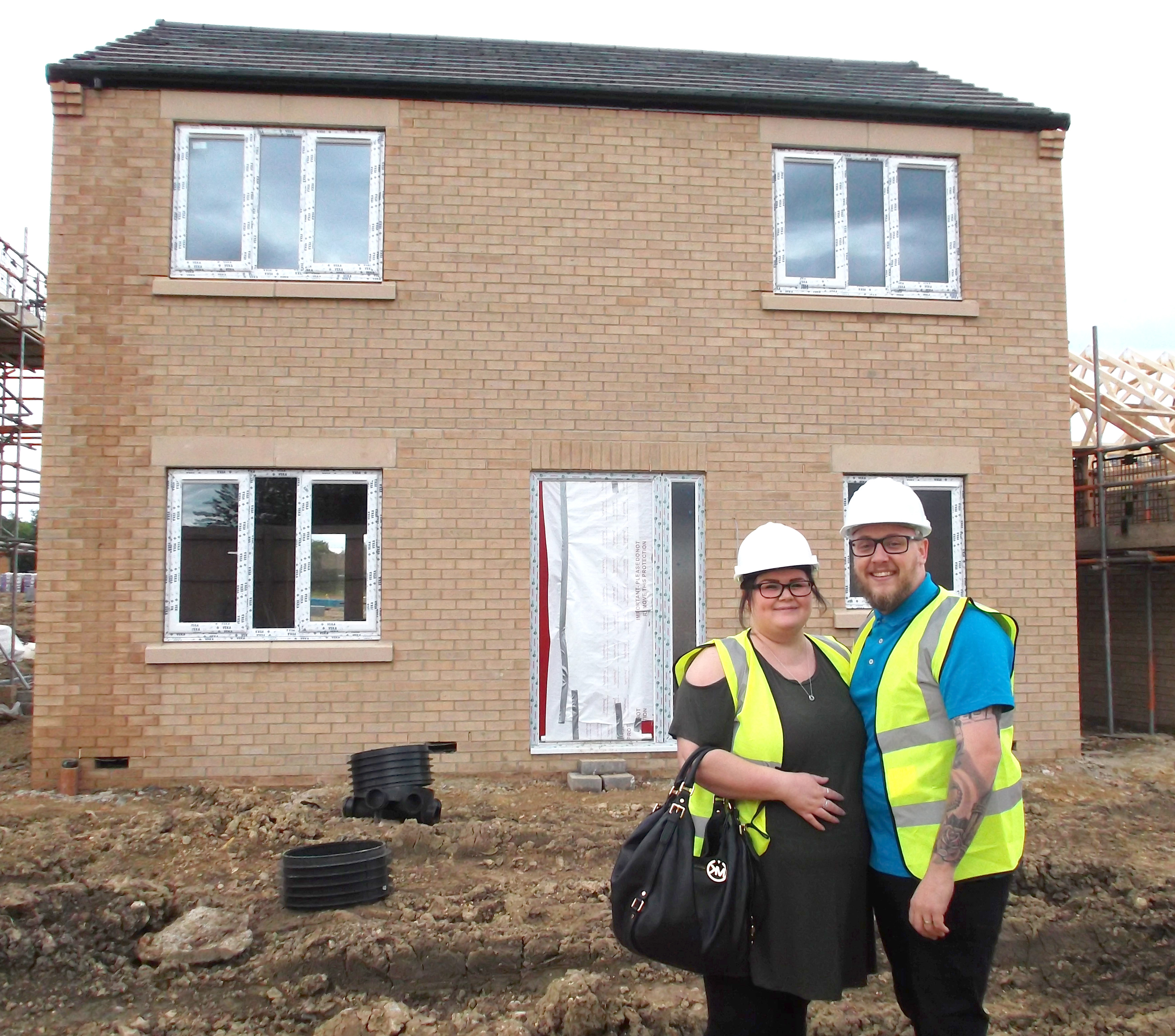 Aycliffe Couple Buy First House Built at New Agnew Site