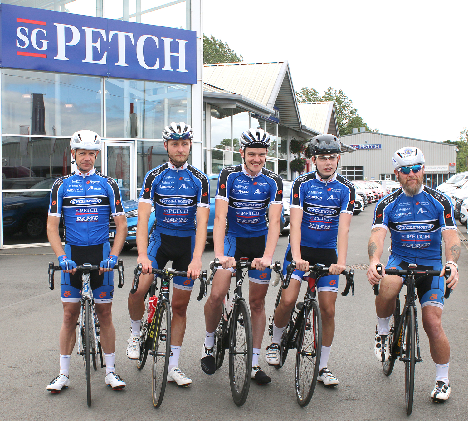 S.G. Petch Sponsor Local Cyclists